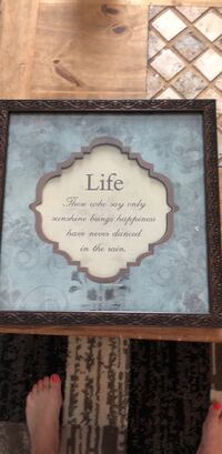 white and brown wooden wall decor Surrey, V3Z