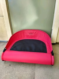 Outdoor dog bed, cot-style