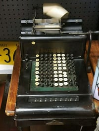 Antique Burroughs Adding Machine Kensington, 20895