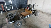 Straight pipe Drift cart  Barrie