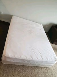 white and gray bed mattress with box Richardson, S0G 4G0