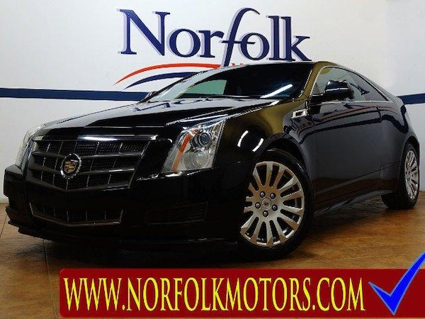 2011 Cadillac CTS Base Coupe AWD