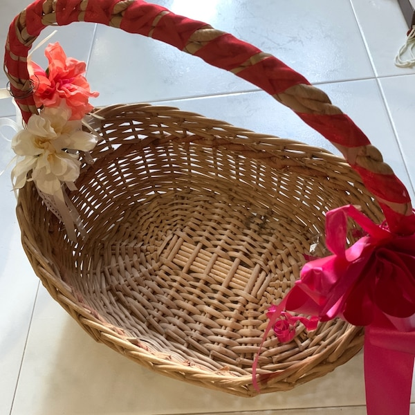 Decorated Hamper Basket