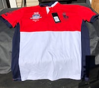 Red and white US Ralph Lauren polo shirt San Diego, 92105