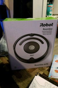 black iRobot Roomba vacuum cleaner box Surrey, V3R 2K3