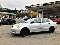 Team West Auto Group 2006 Toyota Corolla CE Local Clean title Automatic corolla Coquitlam