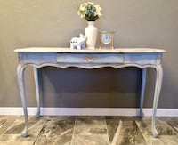Gorgeous antique desk with gold accent Tucson, 85705