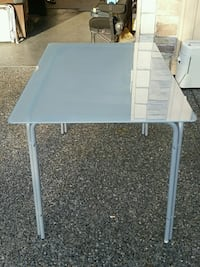 Ikea frosted glass dinning table Surrey