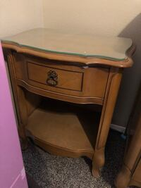 Antique dresser and night stand 1152 mi