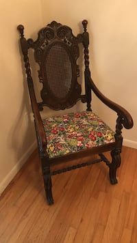 Antique chair with barley twists Islip, 11742