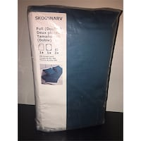 Brand new (sealed) SKOGSNARV IKEA full/double sheet set Toronto, M9L 1H1