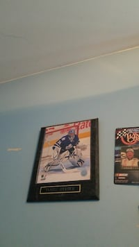 Ice Hockey player poster with black photo frame Mount Forest, N0G 2L0