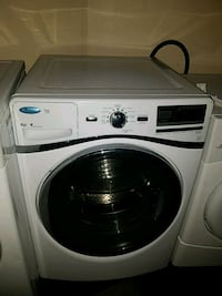 white front-load clothes washer Temple Hills, 20748