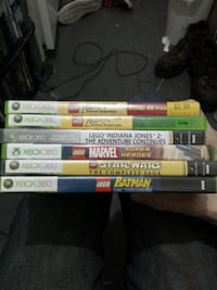 I have 5 lego xbox360 games  Vancouver, V6A 1G1