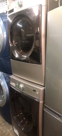 Washer and dryer set electric