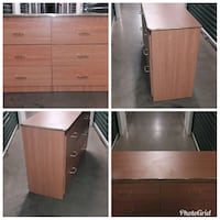 Brown Six Drawer Dresser  Hyattsville, 20781
