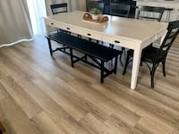 Magnolia Home White 96 Inch Dining Table Las Vegas, 89166