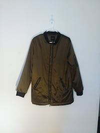 Men's Forever 21 Satin Bomber Jacket Toronto