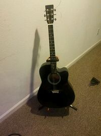black and brown acoustic guitar Centennial, 80015