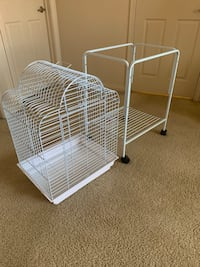 Brand new condition Bird cage and stand with wheels Las Vegas, 89139