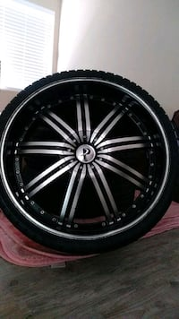 22s wheel w/tires 5lug camry off a camry Los Angeles, 91402