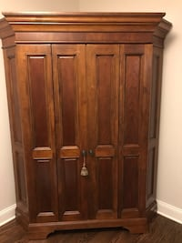2 Corner hutch/armoires for sale -2 available