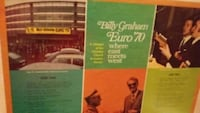 **BILLY GRAHAM** Euro 70 where east meets west. Newton, 28658