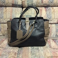 BN Black and brown justFab purse  550 km