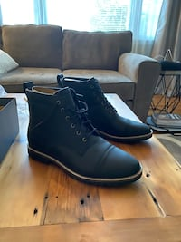 Cole Haan - Nathan Cap Boot - size 10.5 black leather BRAND NEW!!