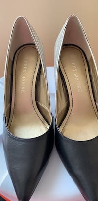 pair of black leather flats Alexandria, 22306