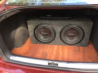 """12"""" Pioneer subs and head unit New Britain"""