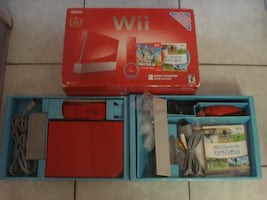 25th Anniversary Red Wii CIB w/3500+ Games!