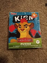 NEW the lion king puzzle box