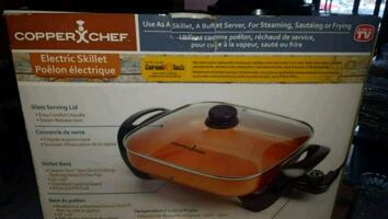 Electric skillet 12 inch new in box