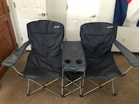 Blue folding double camp chairs Tucson, 85719