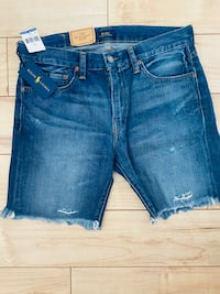 Size 32 -Polo Ralph Lauren The Sullivan slim Jean shorts