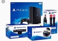 Sony PlayStation Pro & Virtual Reality & Accessories & Games Vancouver