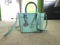 blue Guess leather 2-way tote bag Guelph, N1L 1L5