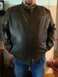 Dark brown leather jacket Riverview, E1B 2Y4