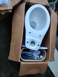 New toilet including install and delivery Los Angeles, 91324