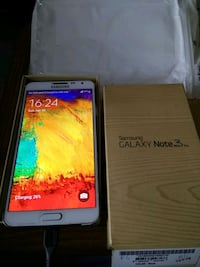 white Samsung Galaxy Note 3 with box Mumbai, 400067
