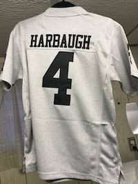 grey Harbaugh number 4 jersey t-shirt Kitchener, N2M 4K6