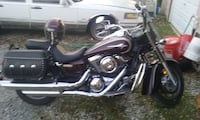 Silver and black touring motorcycle Clanton, 35046