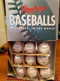 9 pack of Rawlings Pa game ball...new