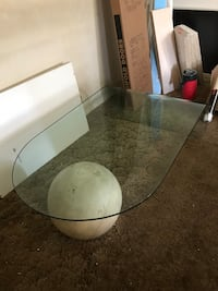 Modern glass coffee table Washington