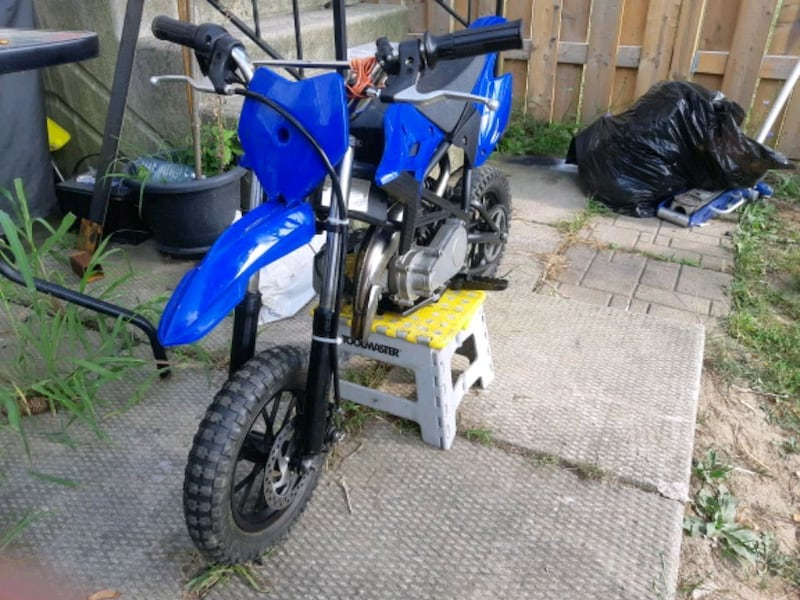 BIG BORE 49cc dirtbike  0