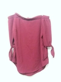 pink scoop neck long sleeve shirt Sudbury, P3C 2N4