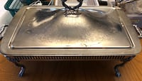 Vintage Silver Plate Chafing Dish with cover Otonabee-South Monaghan