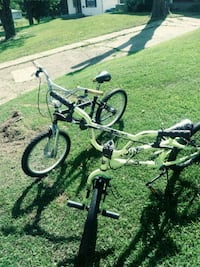 toddler's two black and green bicycles Berkeley, 63134