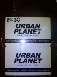 $99+ Urban Planet Gift Cards For Sale Toronto, M9P 1B2
